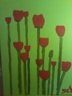 kırmızı laleler